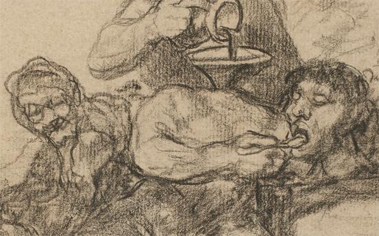 Solo la voluntad me sobra. Dibujos de Goya
