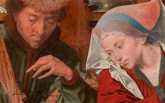 Pasiones mitológicas  Marinus. Pintor de Reymerswale