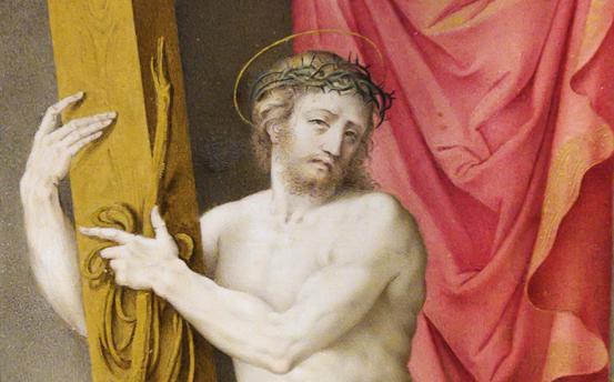 Cristo resucitado, Giulio Clovio