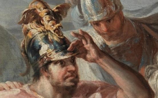 Aníbal vencedor que por primera vez mira Italia desde los Alpes, Francisco de Goya y Lucientes