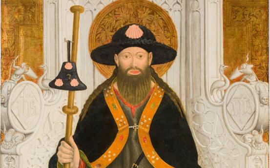 Santiago, patrón de España. Peregrino en el Prado
