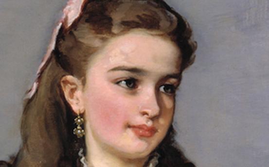 Concepción Serrano, después condesa de Santovenia, Eduardo Rosales