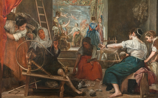Las hilanderas, Velázquez