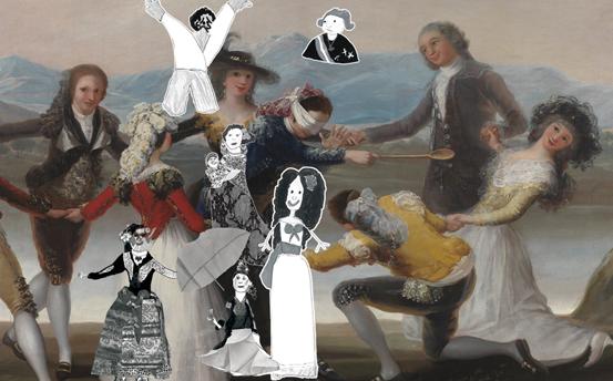 Jugando con Goya