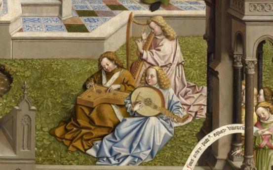 La Fuente de la Gracia. Una tabla del entorno de Jan van Eyck