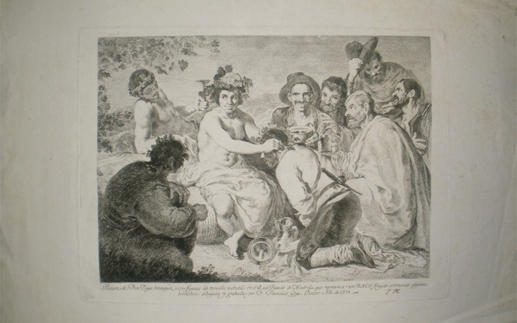 Adquisición: Francisco de Goya, Baco fingido...