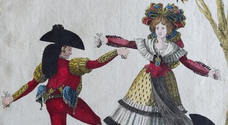 Adquisición: Colección de estampas de diversos pases de Las Seguidillas Boleras