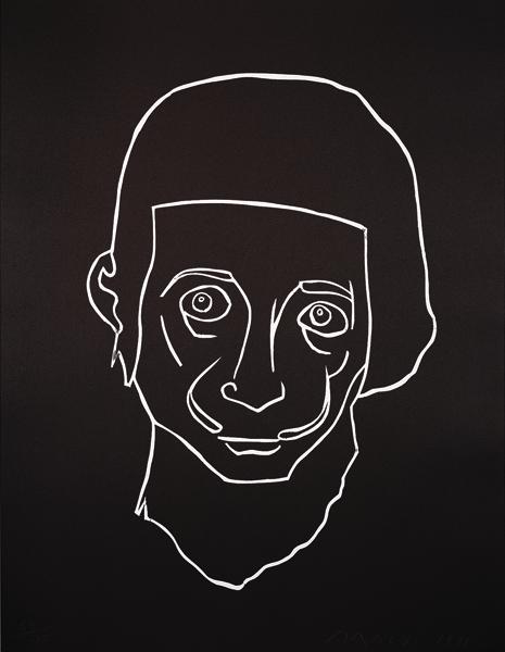 Retrato del enano Sebastián de Morra nacido en Cadaqués en la 1ª mitad del siglo XX
