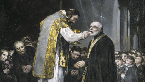 La última comunión de san José de Calasanz de Francisco de Goya
